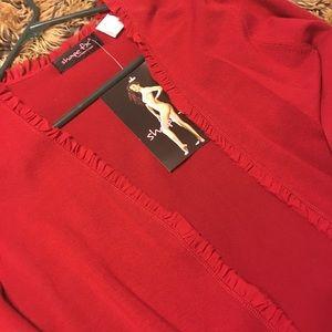 Shape FX Jackets & Coats - 🍀 Shape FX ribbon detail jacket NWT S